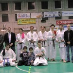 13 marzo 2011 gara di Karate a CALUSO, pur non essendo una Scuola agonistica, su 9 presenze 8 Vittorie!!!